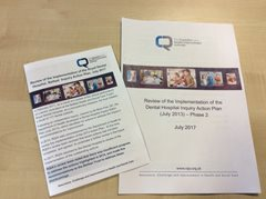 RQIA publishes findings from its Review of the Implementation of the Royal Dental Hospital's Inquiry Action Plan