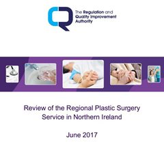 RQIA Review of Northern Ireland's Plastic Surgery Service Published