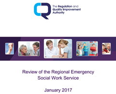 RQIA Publishes Review of Emergency Social Work Provision in Northern Ireland